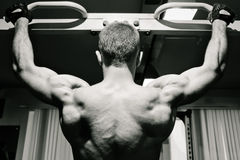 Gym practice Stock Image
