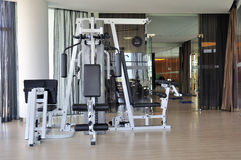 Gym room Royalty Free Stock Photo