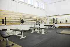 Gym room Stock Images