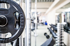 Gym room Royalty Free Stock Photos