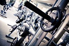 Gym room Stock Photo