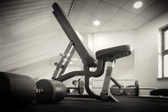 Gym room interior Stock Photo