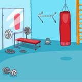 Gym Room Stock Photography