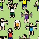 Gym seamless Stock Image