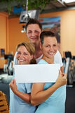 Gym searching for employees Royalty Free Stock Photography