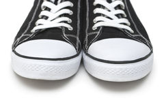 Gym shoes. Sport shoes isolated on a white background Royalty Free Stock Photo