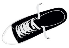 Gym shoes. The  image sports footwear - gym shoes Royalty Free Stock Images