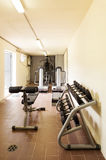 Gym with special equipment Royalty Free Stock Images