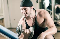 Gym stażowy trening zdjęcia royalty free
