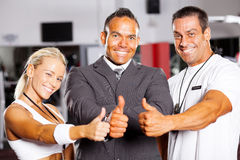 Gym staff Royalty Free Stock Photography