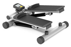 Gym stepper isolated on white Royalty Free Stock Photography