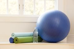 Gym still life Stock Photography