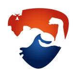Gym symbol stock illustration