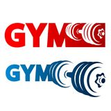 Gym symbol vector Royalty Free Stock Image