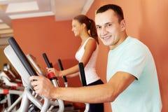 Gym szkolenie Fotografia Royalty Free