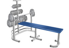 Gym tools Royalty Free Stock Photo