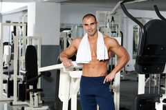 Gym training Stock Photo