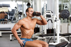 Gym training Stock Photos
