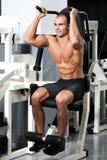 Gym training Stock Photo
