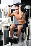Gym training Stock Images