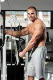 Gym training Stock Image