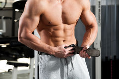 Gym training Royalty Free Stock Photo