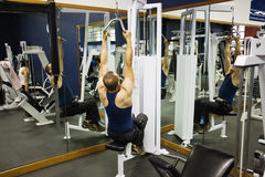 Gym training Royalty Free Stock Images