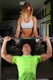 Gym training Royalty Free Stock Photography