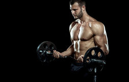 Gym training workout Stock Image
