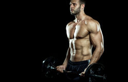 Gym training workout Royalty Free Stock Photos