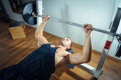 Gym training workout Stock Photography