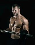 Gym training workout Royalty Free Stock Photo