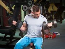 Gym trening Obraz Stock