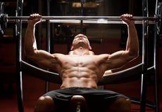 Gym trening Obrazy Royalty Free