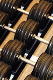 Gym weight equipment Royalty Free Stock Photography