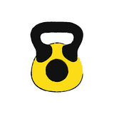 Gym weight isolated Royalty Free Stock Images