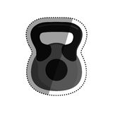 Gym weight isolated Stock Photos