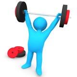 Gym Weight Lifting Stock Photos