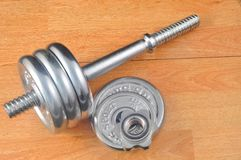 Gym Weights Royalty Free Stock Image