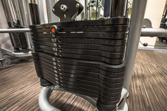 Gym Weights Stock Photography