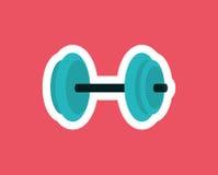 Gym weights equipment Stock Photo