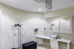 Gym and wellness toilet. Design and furniture Stock Images