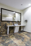 Gym and wellness toilet. Design and furniture Stock Photos