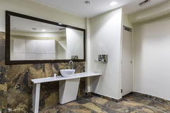 Gym and wellness toilet. Design and furniture Royalty Free Stock Images