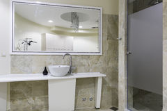 Gym and wellness toilet. Design and furniture Royalty Free Stock Image