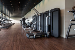 Gym With No People Interior Stock Photography