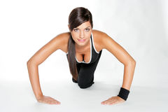 Gym woman Royalty Free Stock Image