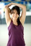 Gym woman Royalty Free Stock Photo