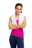 Gym woman Stock Photography
