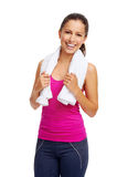 Gym woman Royalty Free Stock Photography